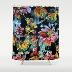 double floral Shower Curtain