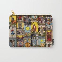The Major Arcana Tarot Collage Carry-All Pouch