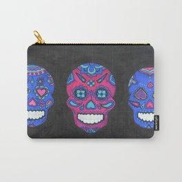 Three Amigos sugar skull Carry-All Pouch