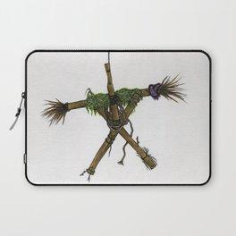 Blair Witch Stick Man Laptop Sleeve