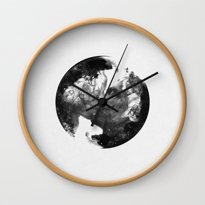 The universe of us. Wall Clock