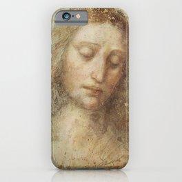 "Leonardo da Vinci ""Head of Christ"" iPhone Case"