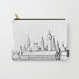 fabulous city . art . black and white Carry-All Pouch