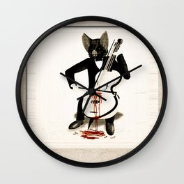 Nightmare of a Lovesick Vampire Wall Clock