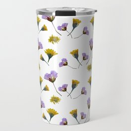 Pressed flowers Travel Mug