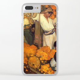 Saturnino Herran - The Offering, 1913 Clear iPhone Case