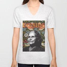 Doris Lessing Unisex V-Neck