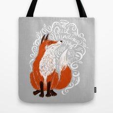 The Fox Says Tote Bag