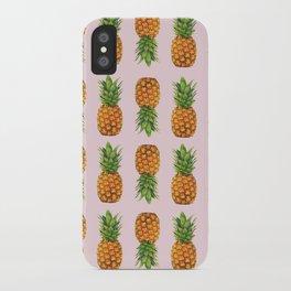 pineapple mania iPhone Case