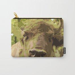 Bull #decor #buyart #society6 Carry-All Pouch