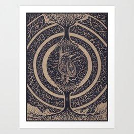 Heart of the Matter Concept Art Print