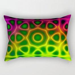 Electric Octagon Rectangular Pillow