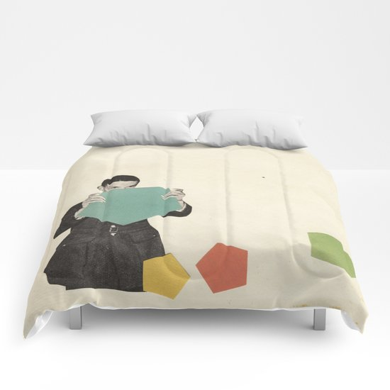 Discovering New Shapes Comforters