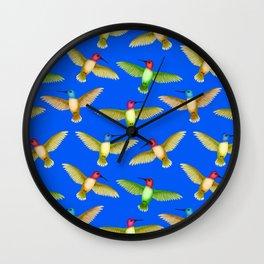 HUMMINGBRID TOTEM Wall Clock