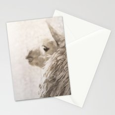 Magical White Alpaca Stationery Cards