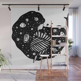 Ink Space Wall Mural