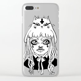 Gothikitty Clear iPhone Case