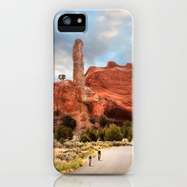 A Ride in Kodachrome Basin State Park close to sunset iPhone Case