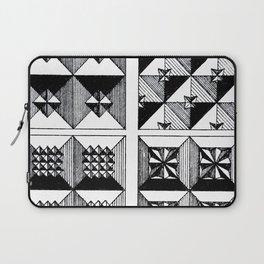 Engraved Patterns Laptop Sleeve