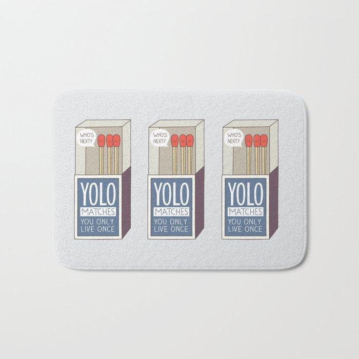 YOLO Bath Mat