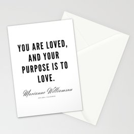 48 |  Marianne Williamson Quotes | 190812 Stationery Cards