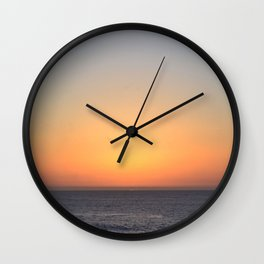 Colores Wall Clock