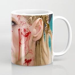 Lagatha Shield Maiden Painting Coffee Mug