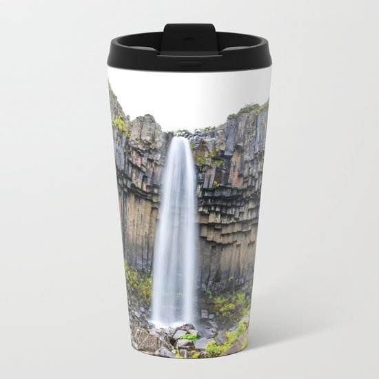 Smooth Svartifoss Metal Travel Mug