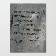 Governments Canvas Print