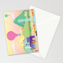 somewhere far away Stationery Cards
