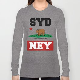 Syd The Wombat Long Sleeve T-shirt