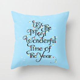 Christmas Season Throw Pillow