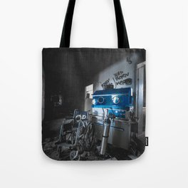 born here Tote Bag