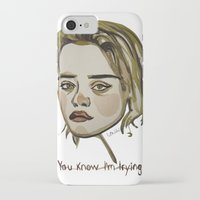 sky ferreira iPhone & iPod Cases featuring Sky Ferreira by Icillustration
