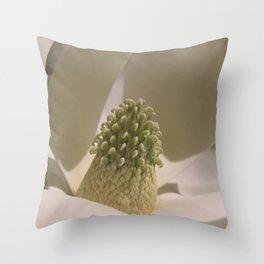 Southern Magnolia - Magnolia grandiflora Throw Pillow