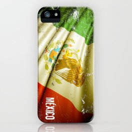 Flag of Mexico iPhone Case