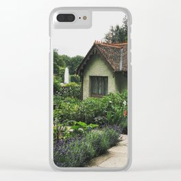 Bird Keeper's Cottage Clear iPhone Case