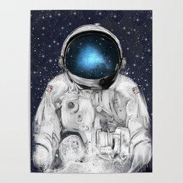space adventurer Poster