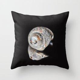 Broken Sea Shell Throw Pillow