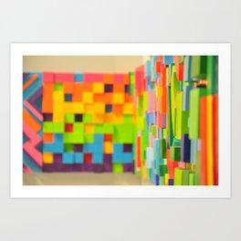 Wall Scape Art Print