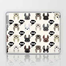 Different French Bulldogs Laptop & iPad Skin