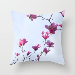 Inflorescence Throw Pillow