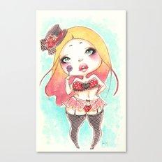 Lollipop Chubby Canvas Print