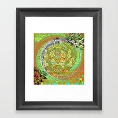 Reminiscing Stream Framed Art Print