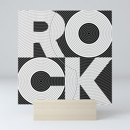 ROCK GROOVE ver2 Mini Art Print