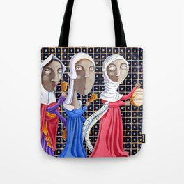 L'epoca di Federico II - Corteo di dame Tote Bag