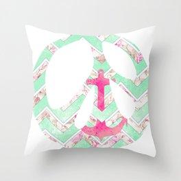 Peace Sign 2 Throw Pillow