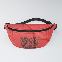 Believe Them Fanny Pack