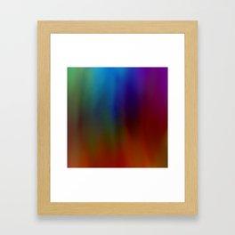 Bruised soul Framed Art Print