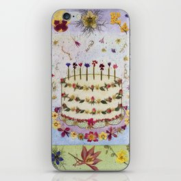 Birthday Cake Card iPhone Skin